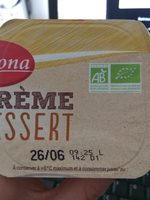 Crème Dessert Vanille Bio - Produit - fr