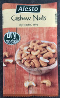 Cashew Nuts dry roasted spicy - Product - nl