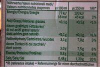 Bio Organic Tomaten-gemüse Saft - Informations nutritionnelles - fr