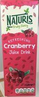 Naturis Cranberry juice drink - Product - en