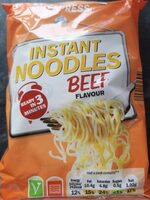 Instant noodles Beef flavour - Product