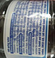 active spring water - Ingredients