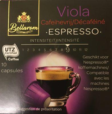 Viola Espresso Décaféiné - Produit