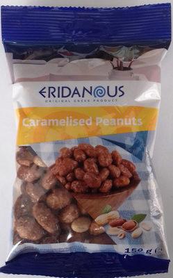 Caramelised peanuts