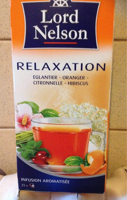 Thé églantier Oranger Citronelle Hibiscus Lord Nelson