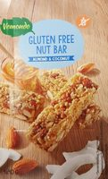 Gluten free nut bar - Produit - fr