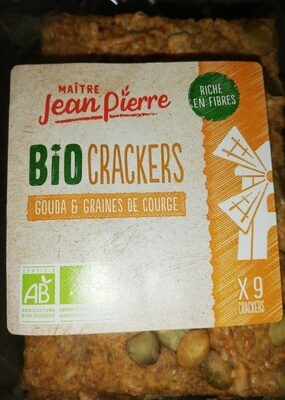 Crackers gouda & graines de courge - Producte - fr