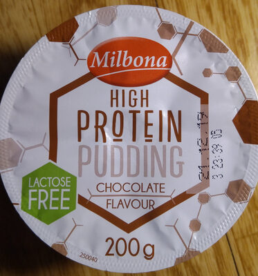 High Protein Pudding Chocolate Flavour - Tuote - fi