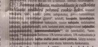 Grandino Soft Baked Triple Choc - Ainesosat - fi