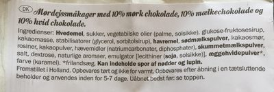 Grandino Soft baked triple choc - Ingrédients