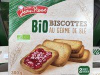Biscottes Bio au germe de blé - Produit - fr