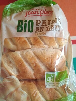 Pains au lait pur beurre Bio - Produit - fr