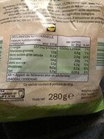 Pains au lait pur beurre Bio - Informations nutritionnelles - fr