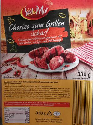 Chorizo zum Grillen Scharf - Product