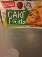 Cake fruits - Produit - fr