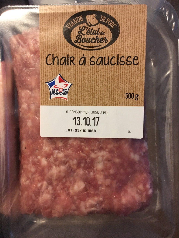 Chair à saucisse - Produit
