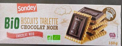 Bio biscuits tablette chocolat noir - Producto - fr