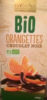 Orangettes chocolat noir - Prodotto - fr