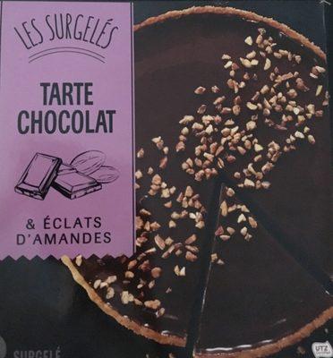 Tarte Chocolat & éclats d'amandes - Product