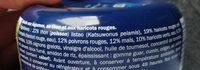 Salade mexicaine au thon - Inhaltsstoffe - fr