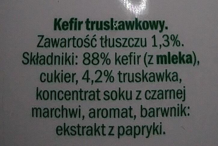 Kefir truskawkowy - Ingrédients - pl
