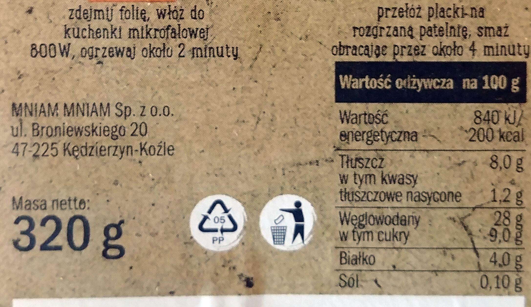 Racuchy z jabłkiem smażone - Wartości odżywcze - pl