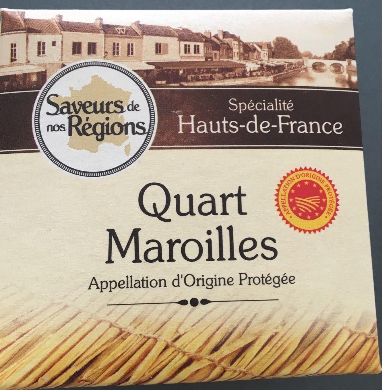 Quart maroilles AOP - Produit