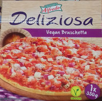 Pizza vegan bruschetta - Producte
