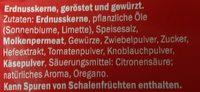 Erdnusskerne Fajita Style geröstet & gewürzt - Inhaltsstoffe - de