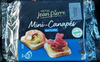 Mini-Canapés - Produit
