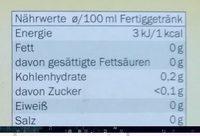 Lord Nelson Pfefferminze Kräutertee - Nutrition facts