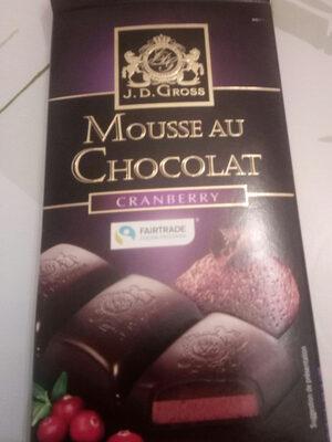 Mousse au chocolat cranberry - Tuote - fi