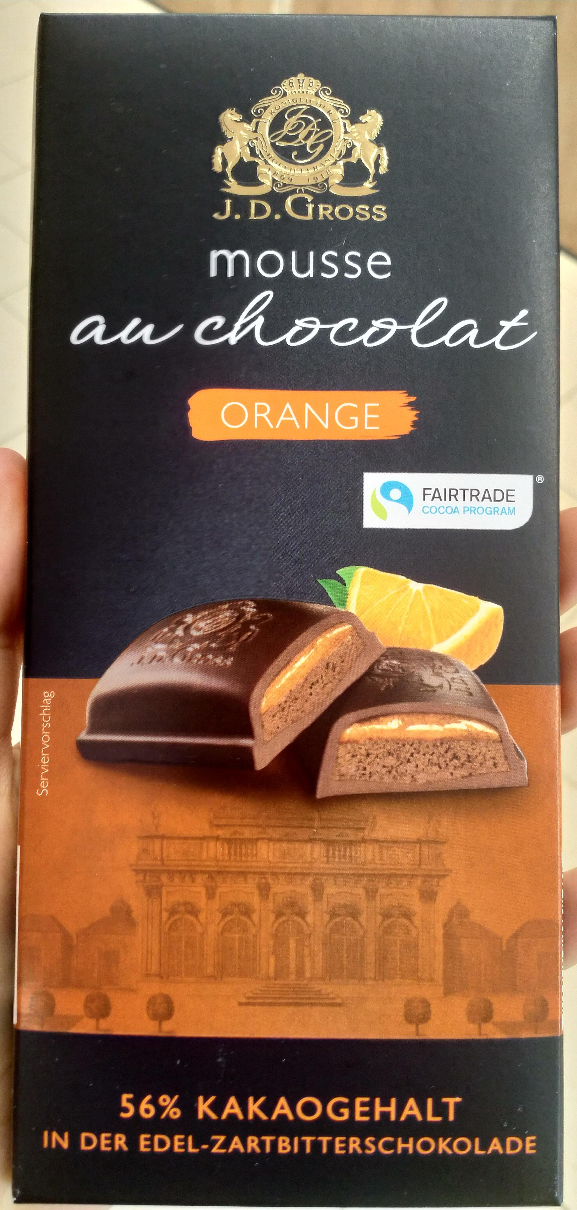 Mousse au chocolat Orange - Product - de