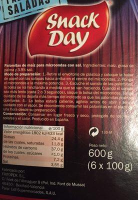 Snackday - Ingredients