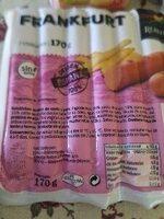 Saucisse de Frankfort - Ingredientes - es