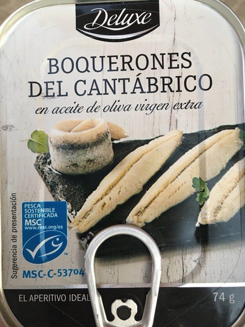 Boquerones del Cantábrico - Producto - es