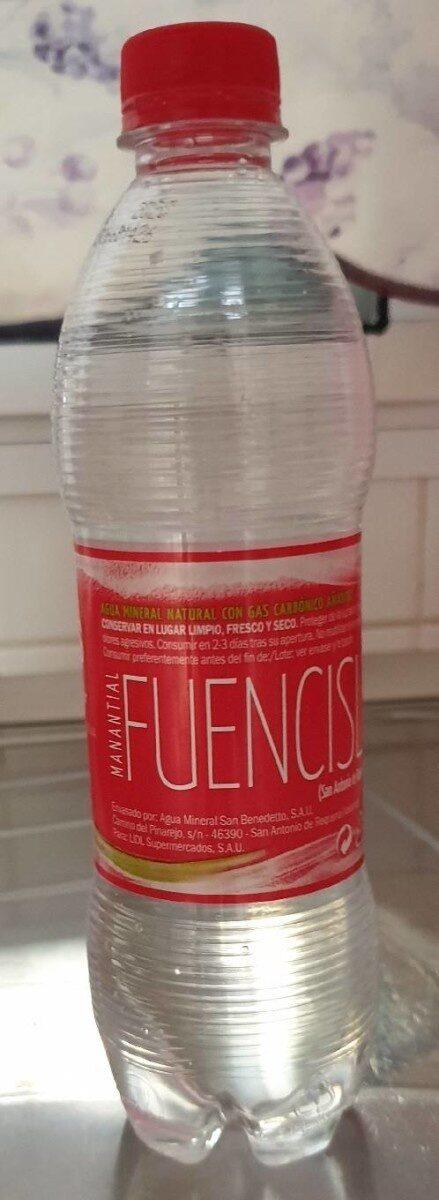 Agua - Información nutricional - nl