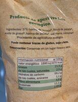 Corteza de lenteja - Nutrition facts - fr