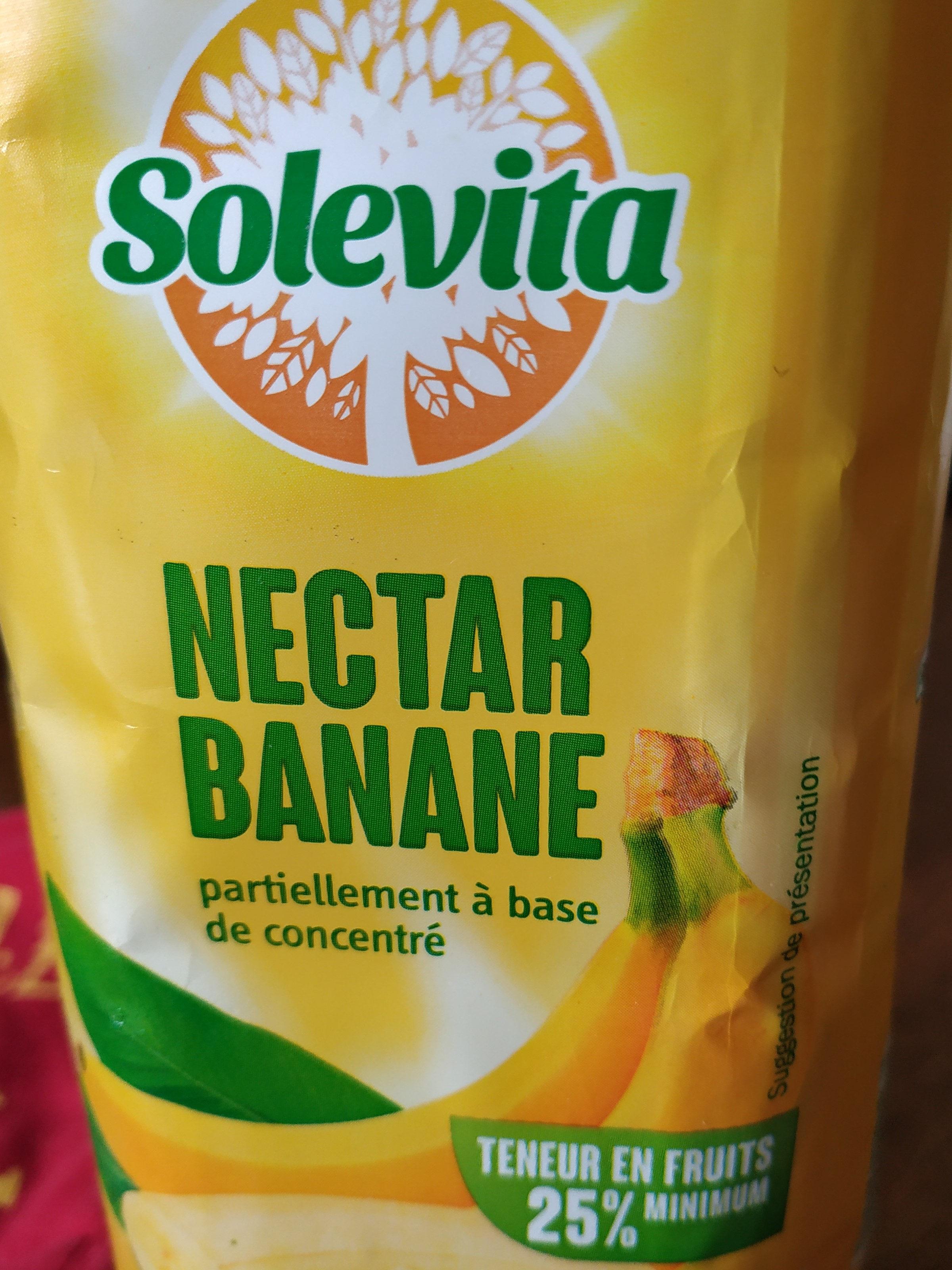 nectar banane - Produit
