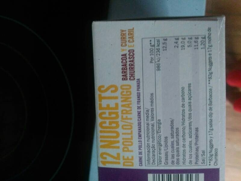 Nuggets de pollo - Producte