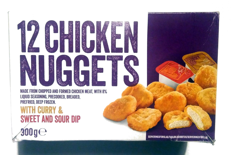 Nuggets de poulet - Produkt - da