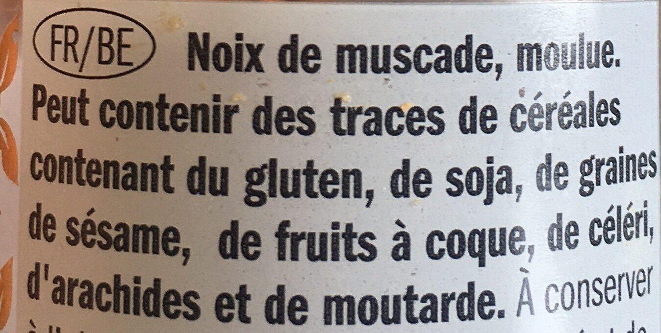 Noix de muscade Kania - Ingrediënten - fr