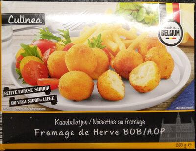 Noisettes au fromage de Herve AOP - Product - fr