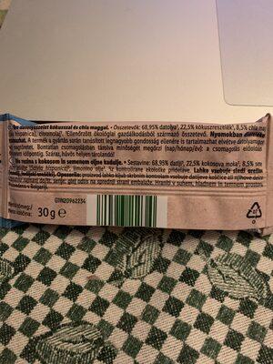 Bio raw bar chia cocos - Ingredients - en