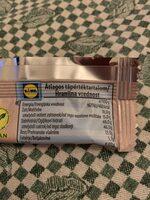 Bio raw bar chia cocos - Nutrition facts - en