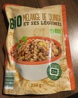 Bio quinoa et légumes - Product - fr