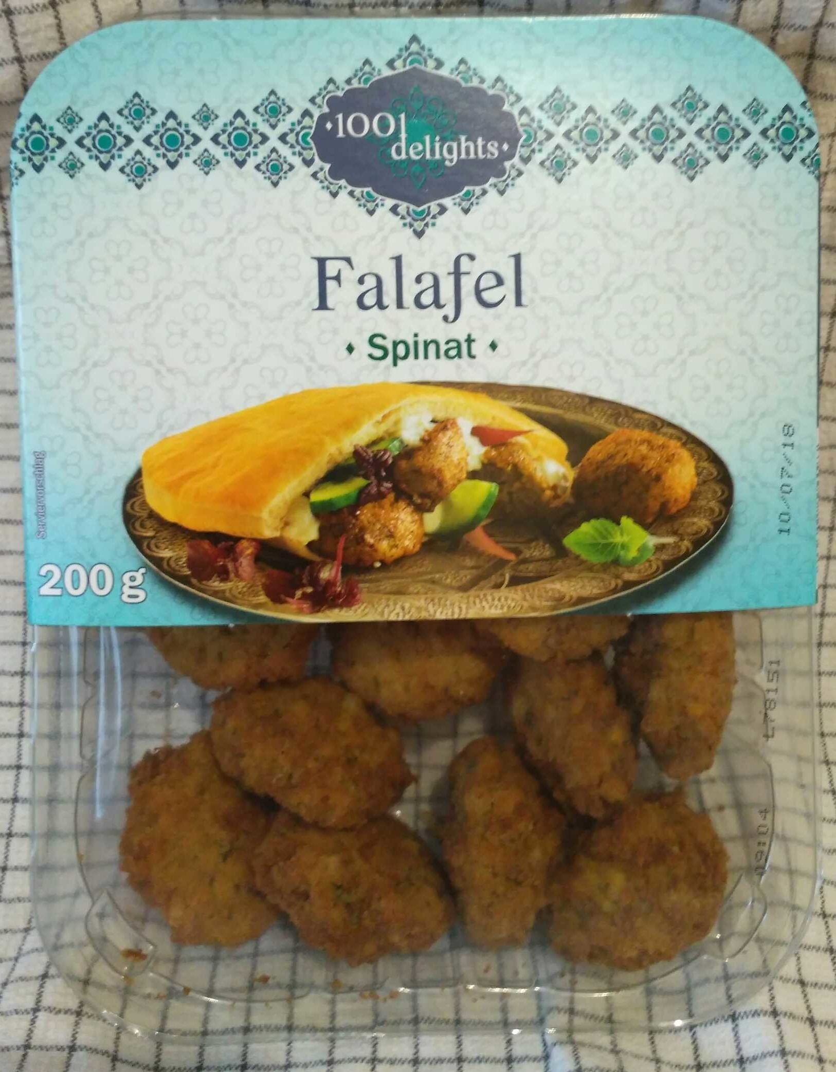 Falafel epinard - Produit - de