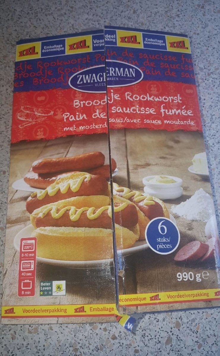 Pain de saucisse fumée - Product