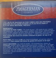 Pain de saucisse fumée - Ingredients - fr