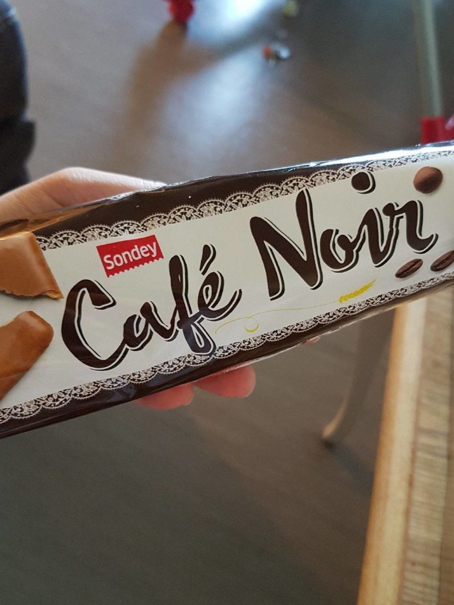 Café noir - Produit